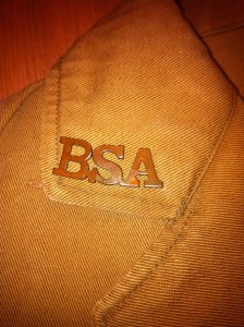 BSA Monogram Pin