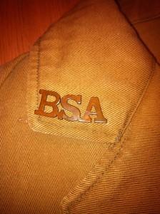 BSA Monogram Pin