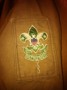 1920's Scoutmaster Patch